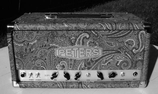 Peters 3CP0 amplifier