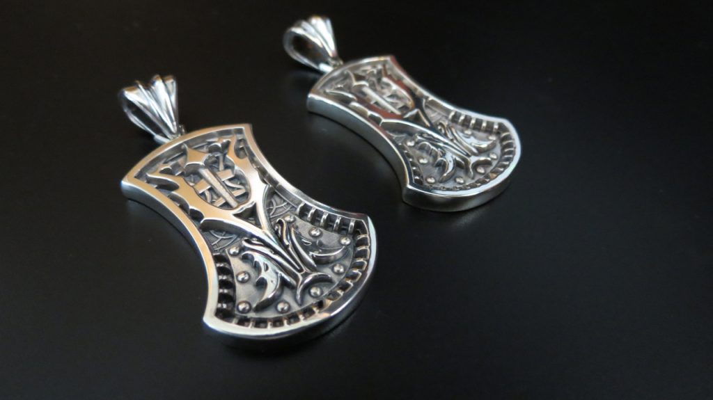 Orion's Sceptre - Sterling Silver pendant